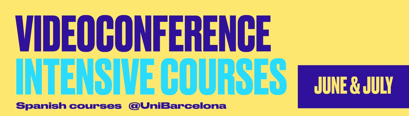 SPANIFY - Intensive Summer Courses by videoconference
